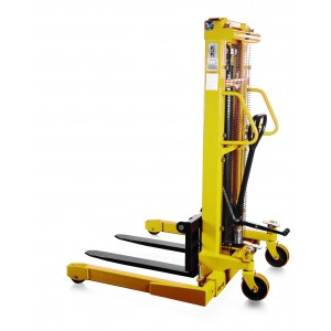 Straddle Leg Stacker SFH-1025AG 1T 2500mm Lift with Hand and Foot Pump Operation